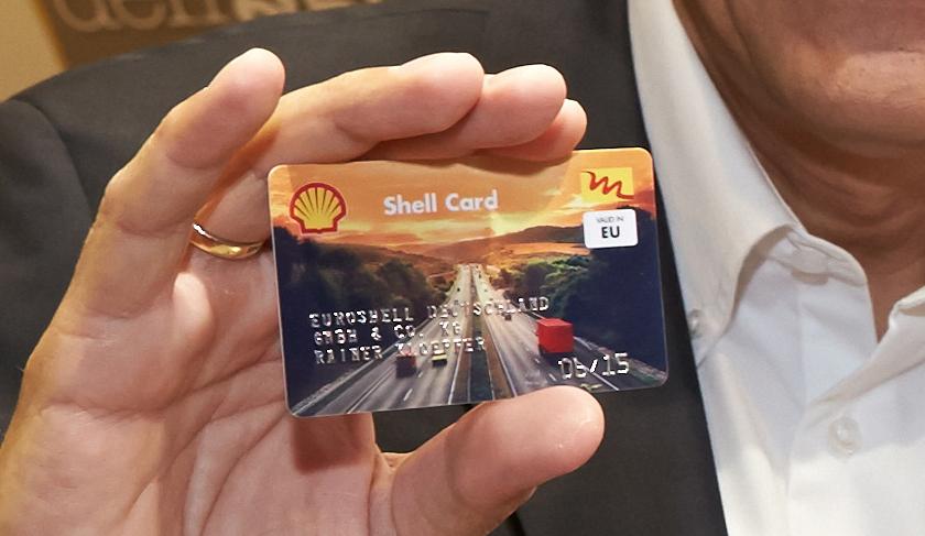 Shell-Tankkarte