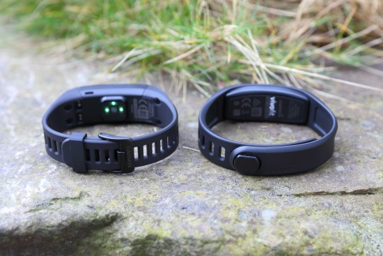 links: vivosmart HR rechts: vivofit 2