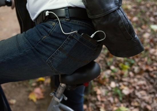 ION BELT Akku Gürtel beim Radfahren