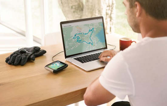 TomTom Rider Planung am PC