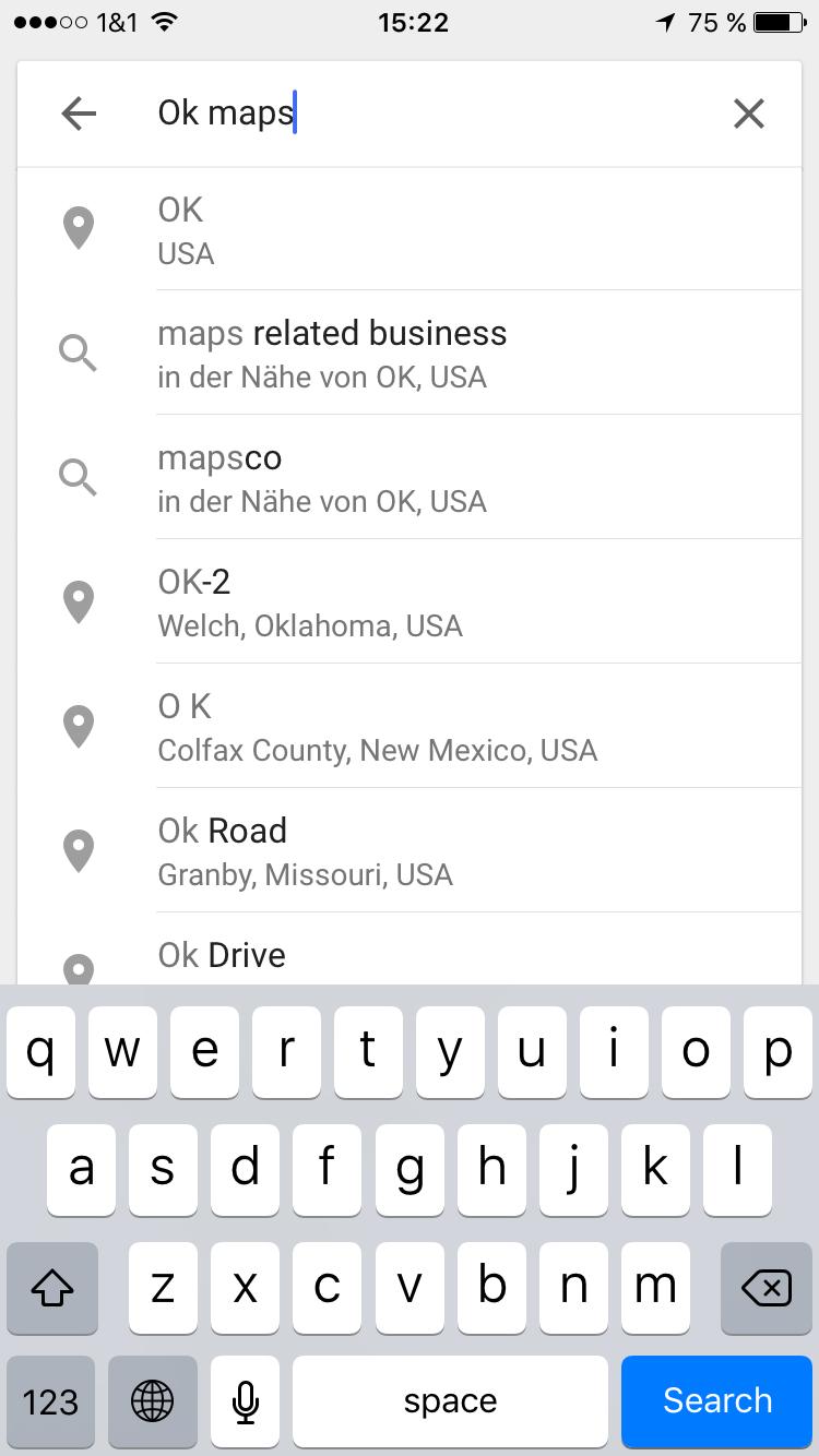 on download google maps offline ios