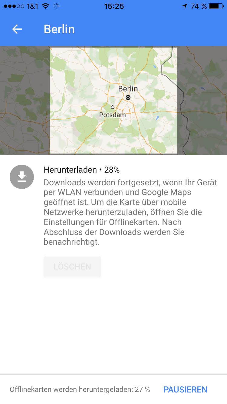 Google Maps Fur Ios Erhalt Offline Navi Pocketnavigation
