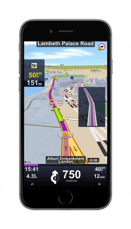 Sygic Truck GPS Navigation for iOS 1