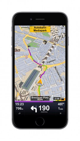 Sygic Truck GPS Navigation for iOS 2