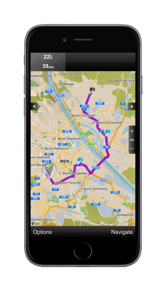 Sygic Truck GPS Navigation for iOS 4