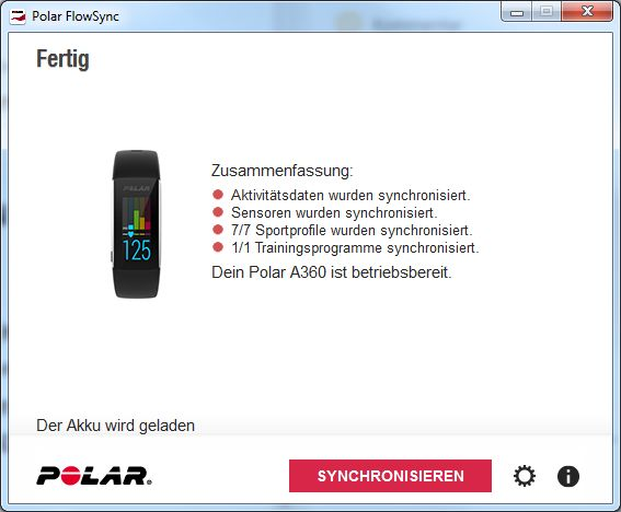 polar a360 fitness tracker im test. Black Bedroom Furniture Sets. Home Design Ideas