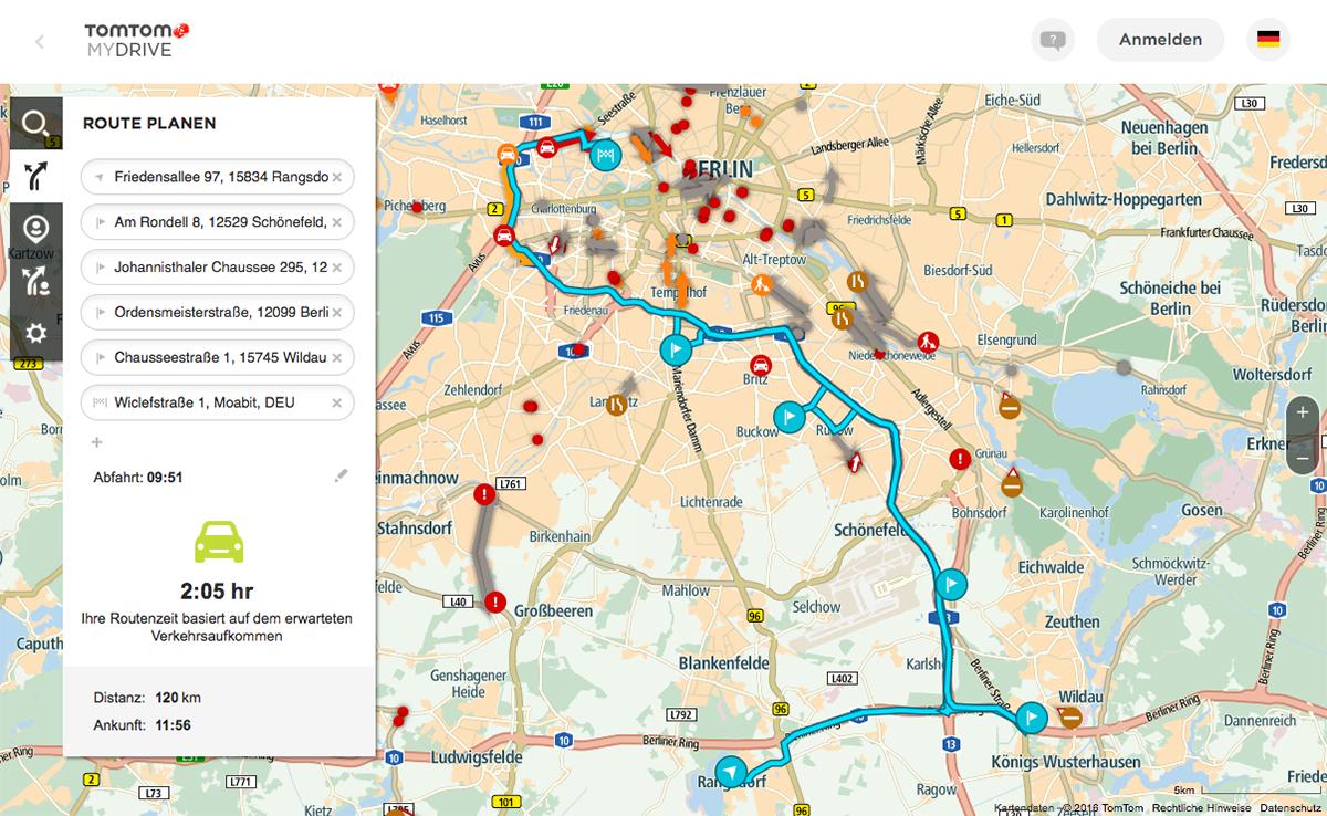 TomTom-MyDrive-Routenplaner