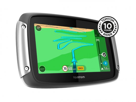 TomTom Rider Great Rides Edition_10 years Rider