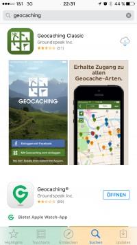 Geocaching-App-Class-App
