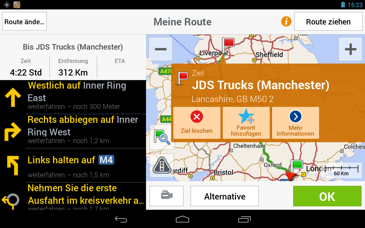 copilot app jetzt auch f r lkw fahrer navigation gps blitzer pois. Black Bedroom Furniture Sets. Home Design Ideas