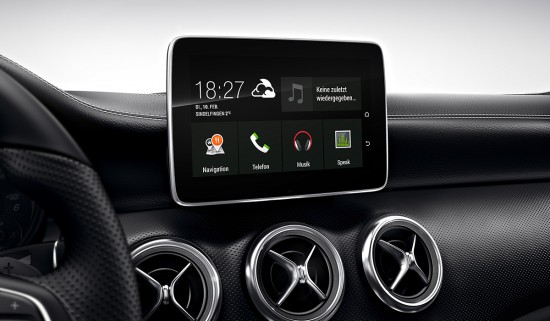 Mercedes-Benz A-Klasse Navi Google Play