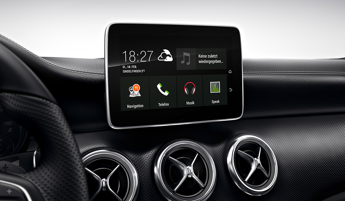 android auto f r mercedes fahrzeuge. Black Bedroom Furniture Sets. Home Design Ideas