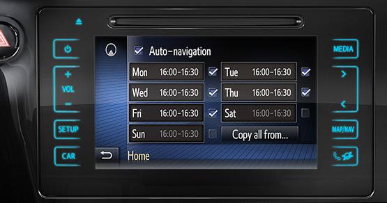 Toyota Touch 2 with GO mit HERE Karten und kostenlosen Updates