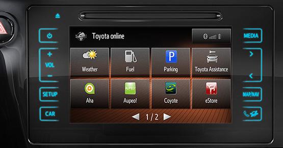 Toyota Touch 2 With Go Mit Here Karten Und Kostenlosen