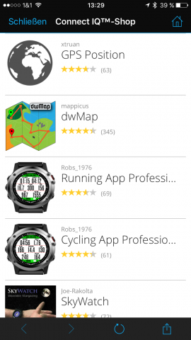 Garmin-Connect-vivoactive-HR-Apps