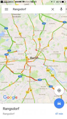 Google-Maps-Verkehr