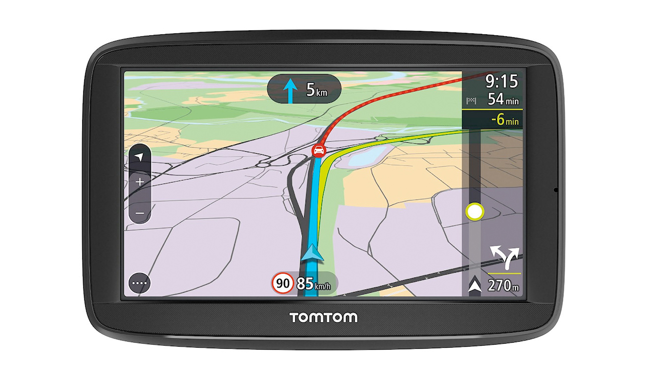 tomtom via 62 im vergleich navigation gps blitzer pois. Black Bedroom Furniture Sets. Home Design Ideas