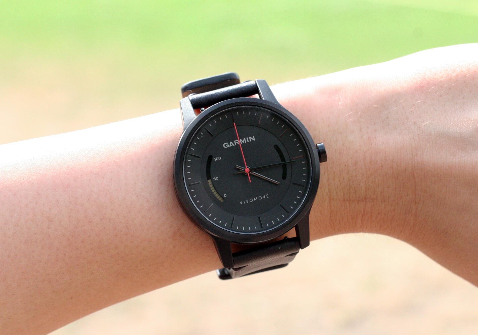 garmin vivomove test edle armbanduhr mit fitness tracker. Black Bedroom Furniture Sets. Home Design Ideas