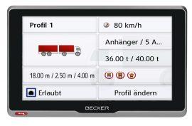 BECKER transit6s EU_Fahrzeugprofil