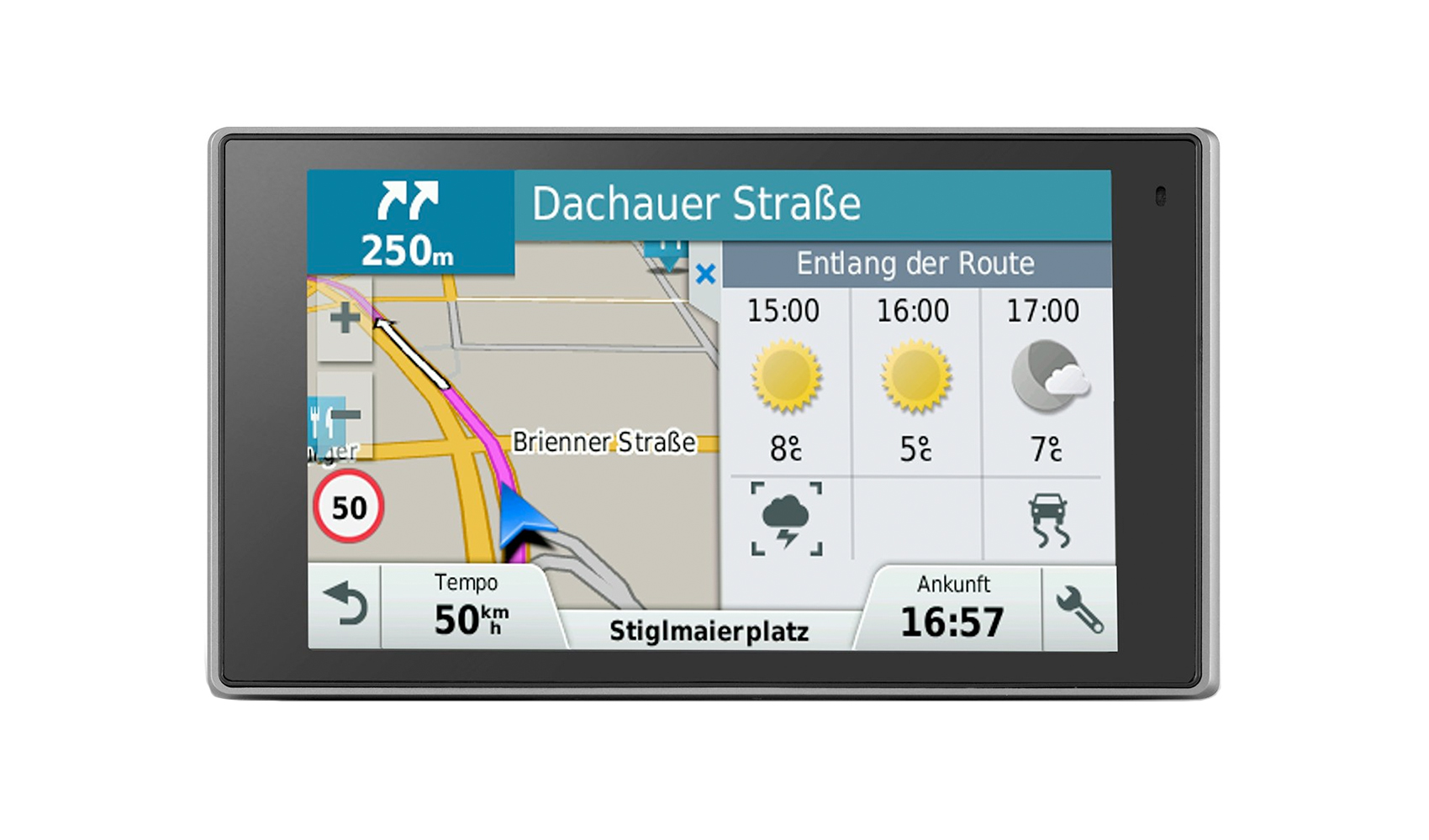garmin driveluxe 50lmt eu im vergleich pocketnavigation. Black Bedroom Furniture Sets. Home Design Ideas