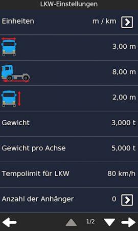 NavionTruck_LKWeinstellungen