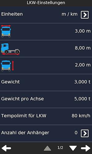 lkw navigation f r windows phone und windows 10 mobile. Black Bedroom Furniture Sets. Home Design Ideas