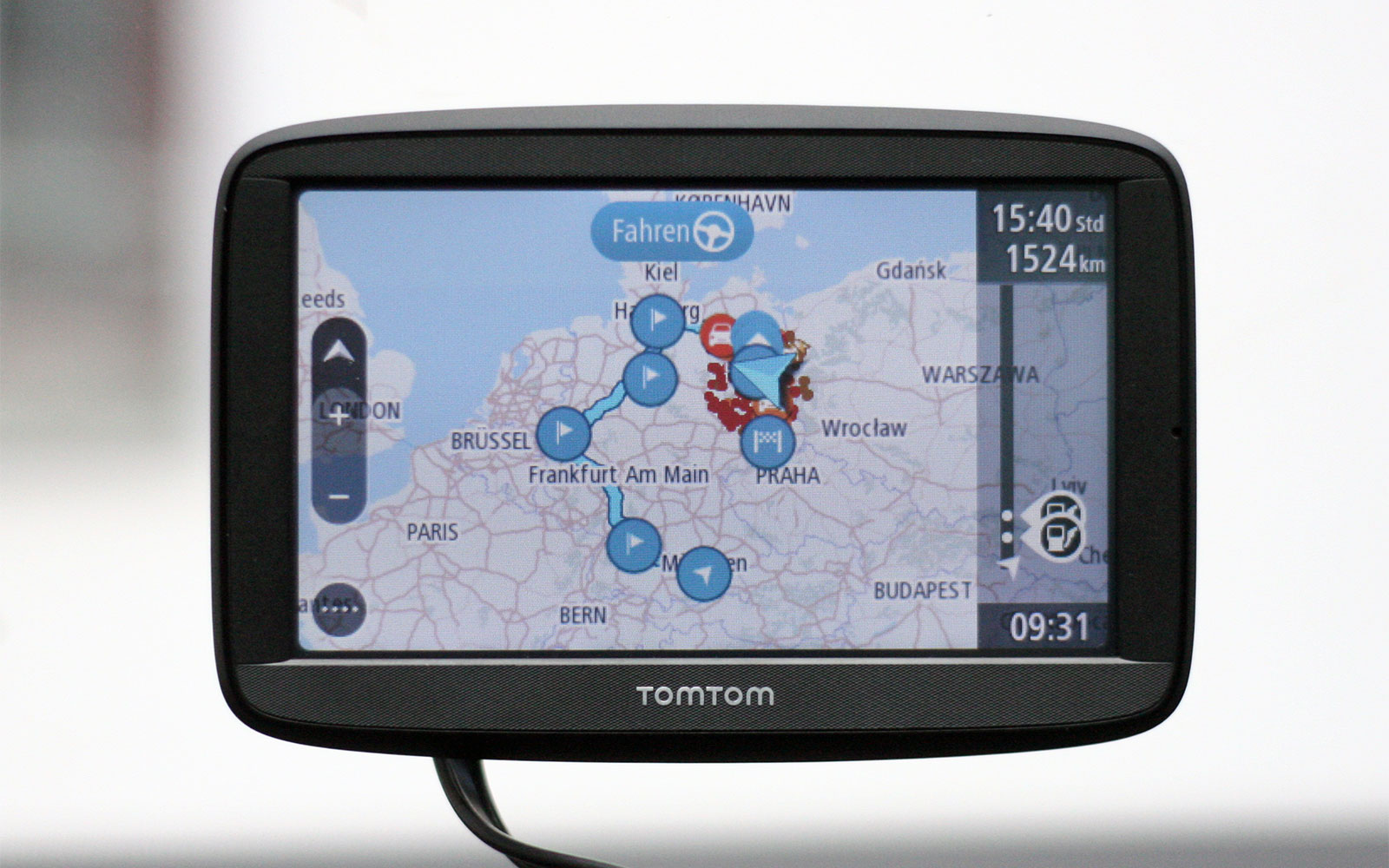 tomtom via 52 62 im test navigation gps blitzer pois. Black Bedroom Furniture Sets. Home Design Ideas