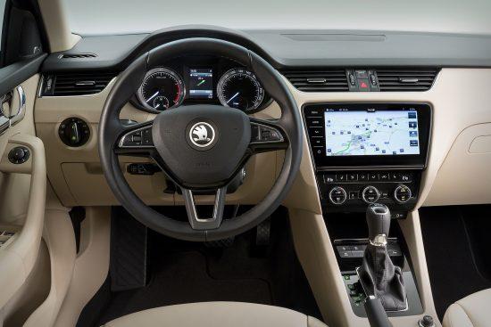Skoda Octavia erhält neues Navigationssystem