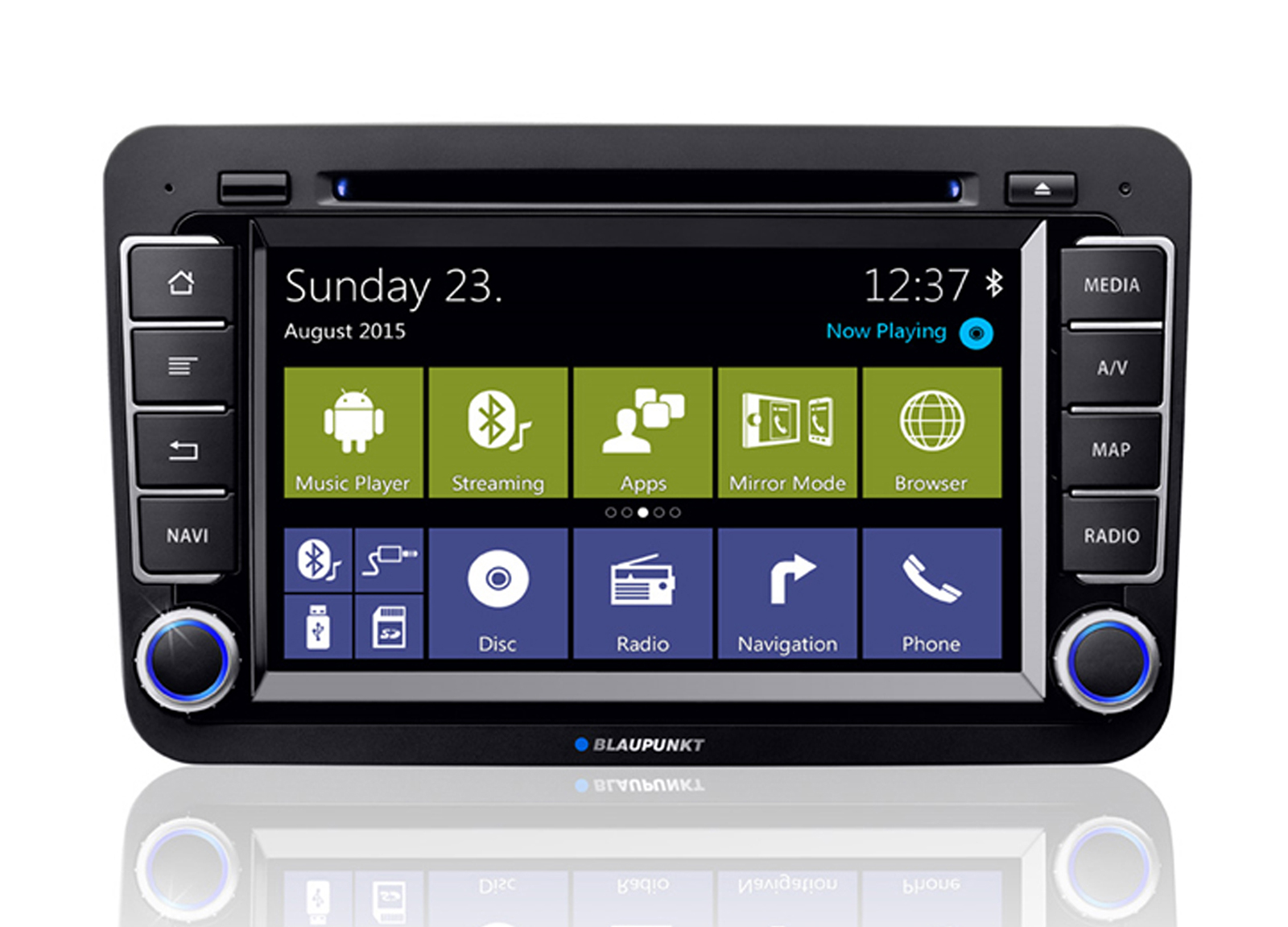 blaupunkt bremen 975 android autoradio f r den din 2 schacht navigation. Black Bedroom Furniture Sets. Home Design Ideas