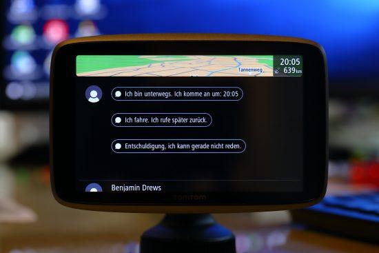 TomTom GO 6200 automatische Antworten