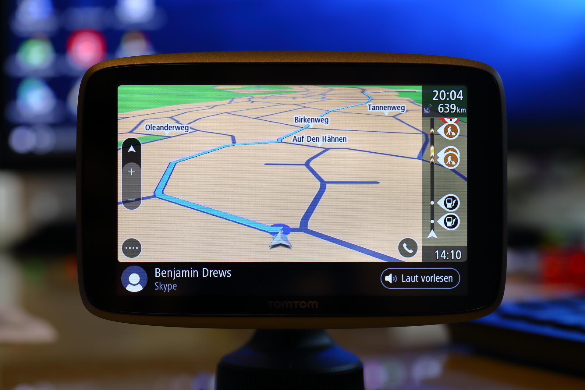 Tomtom Go 6200 Und Go 5200 Im Test Pocketnavigationde