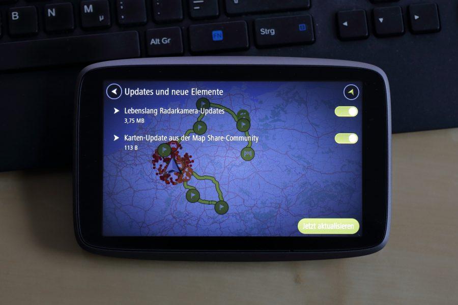 TomTom GO 6200 Updates über WLAN