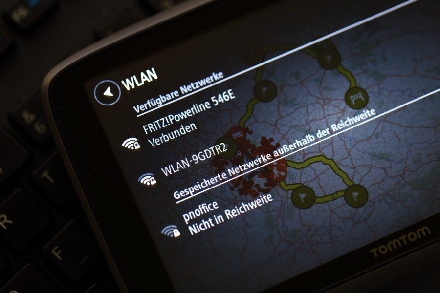 TomTom GO 6200 WLAN Einstellungen