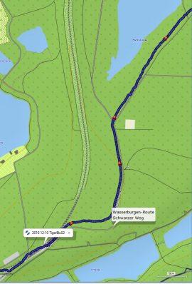 Falk Tiger Blu Karte GPS Abweichung