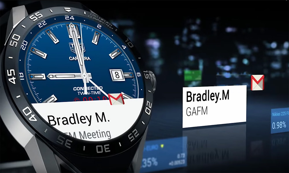 TAG Heuer Connected Smartwatch – Neue Modelle im Mai 2017 ...