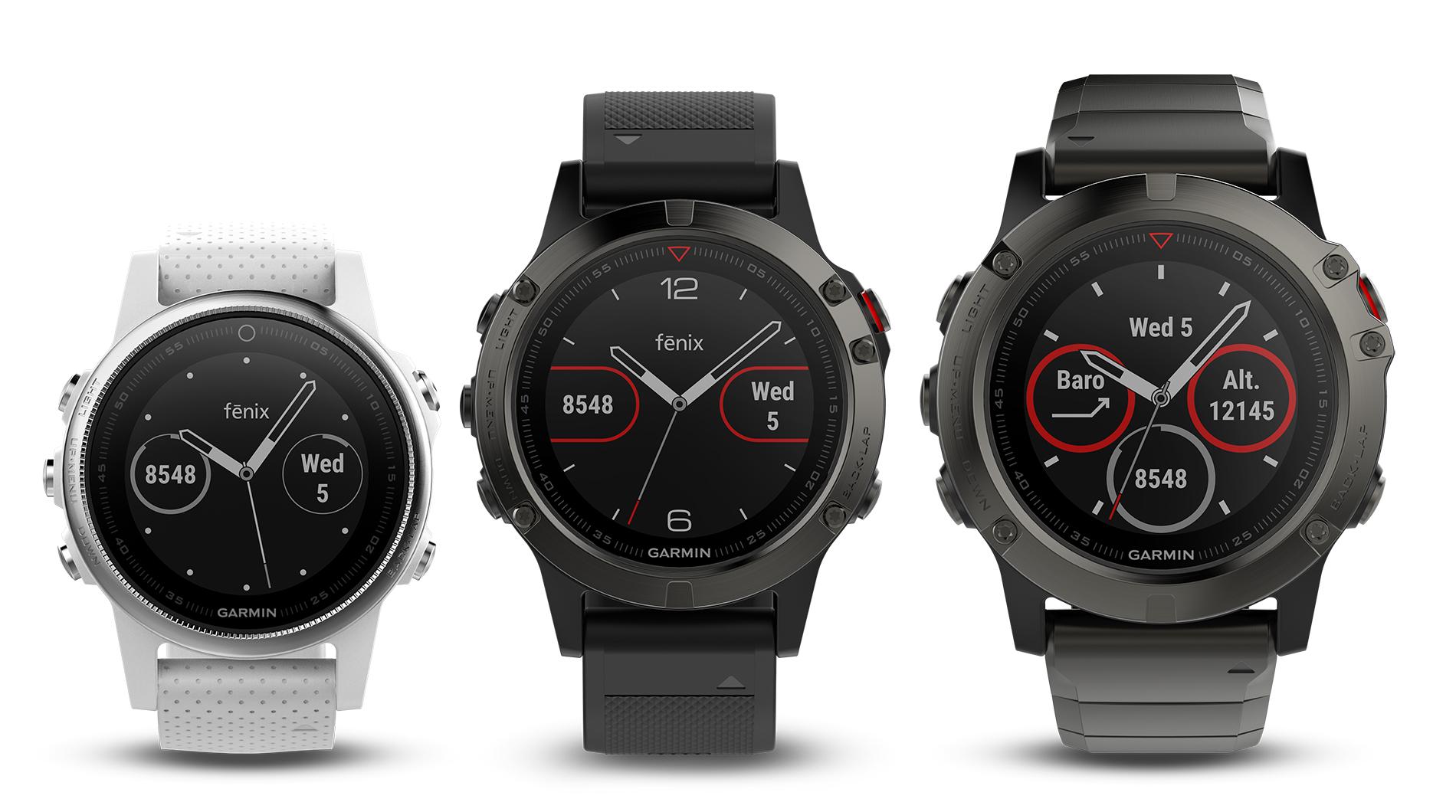 Garmin fenix 5: Neue GPS-Multisport-Smartwatch mit ...