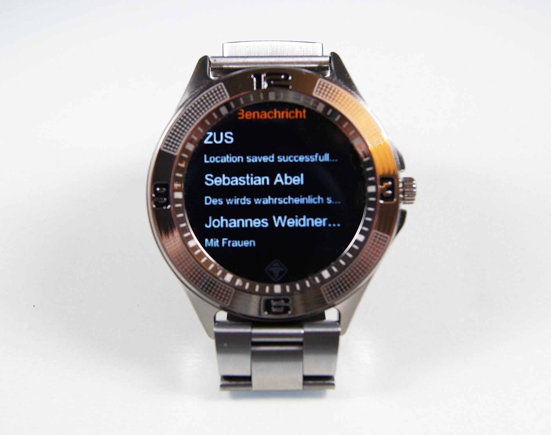 tiger smartwatch im test navigation gps blitzer pois. Black Bedroom Furniture Sets. Home Design Ideas