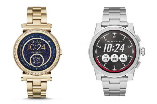 5f52b3a3368 Die Rechenleistungen der smarten Uhren werden von einem Qualcomm Snapdragon  Wear 2100 übernommen. Die Akkuladung erfolgt bei beiden Uhren über ein ...