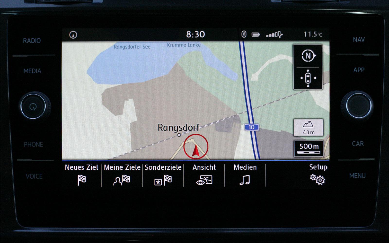 VW Discover Media MJ 2017 › pocketnavigation.de | Navigation | GPS ...
