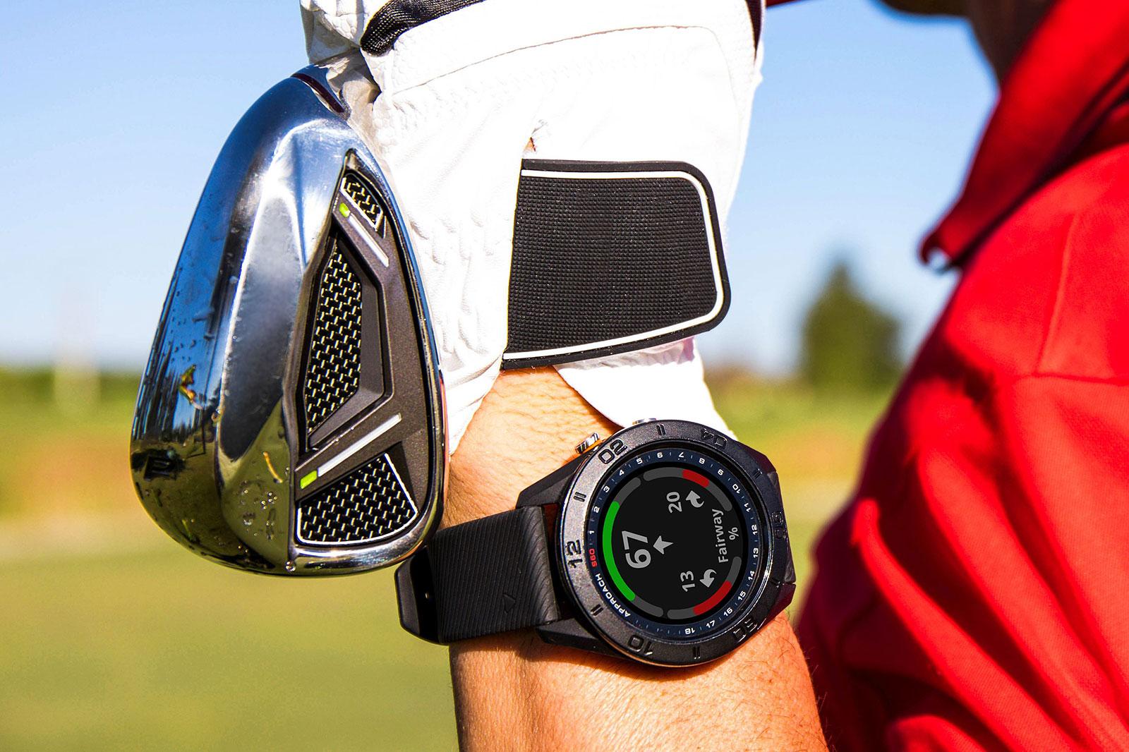 garmin approach s60 gps golfuhr mit sport und fitness. Black Bedroom Furniture Sets. Home Design Ideas