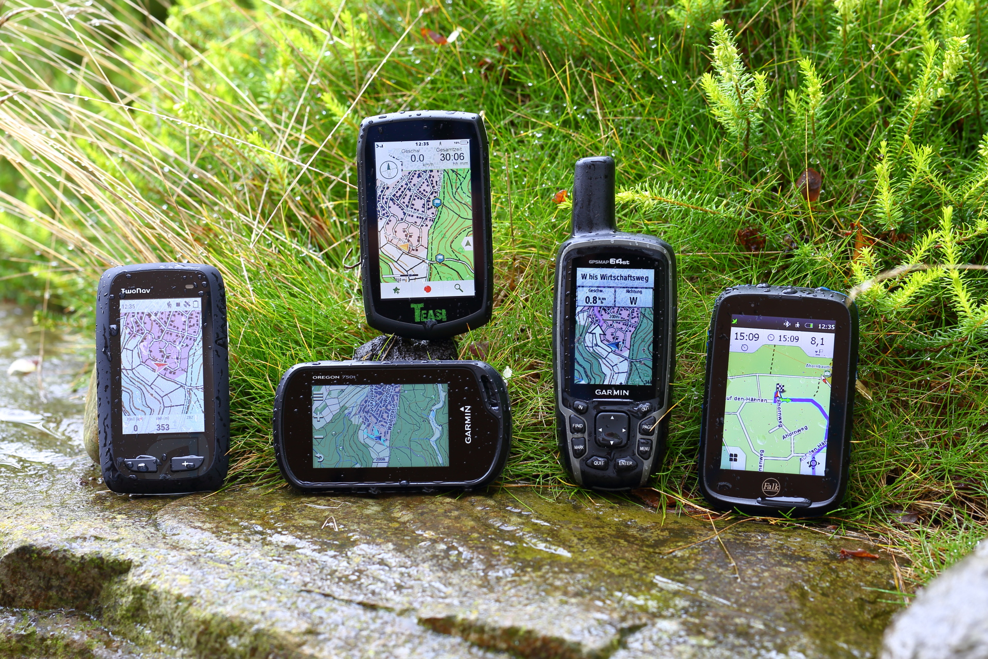 Gps Geräte Bergwandern : Top outdoor navi test u203a pocketnavigation.de navigation gps