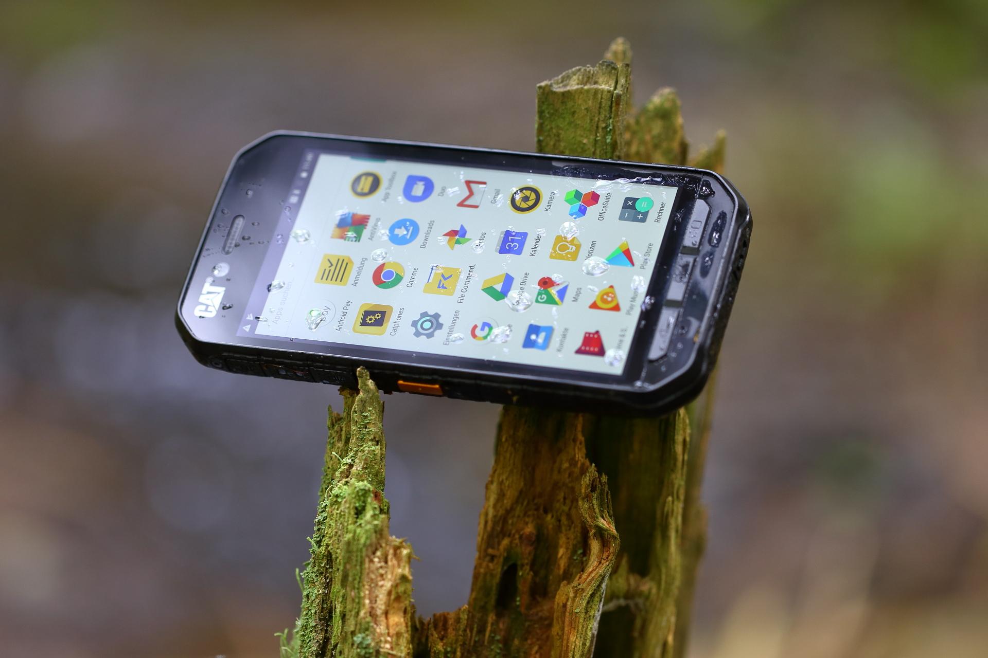 Test Cat S41 Powerbank Rugged Smartphone Pocketnavigationde