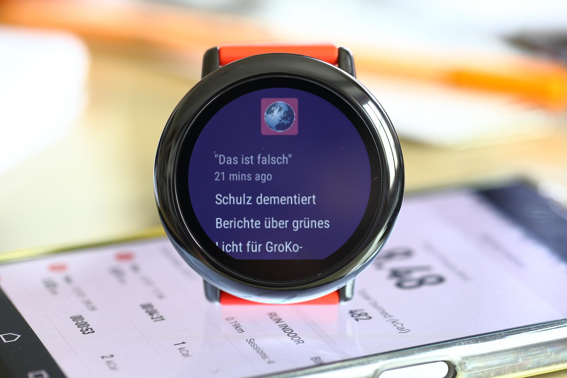 Test Amazfit PACE GPS Running Smartwatch › pocketnavigation.de ...