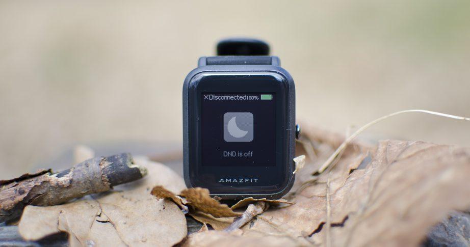 test huami s amazfit bip fitness tracker smartwatch. Black Bedroom Furniture Sets. Home Design Ideas