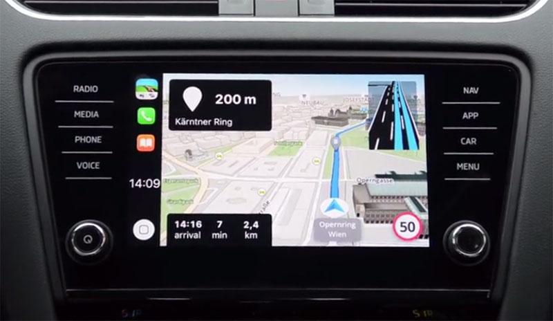 apple ffnet carplay f r navi apps von drittanbietern. Black Bedroom Furniture Sets. Home Design Ideas