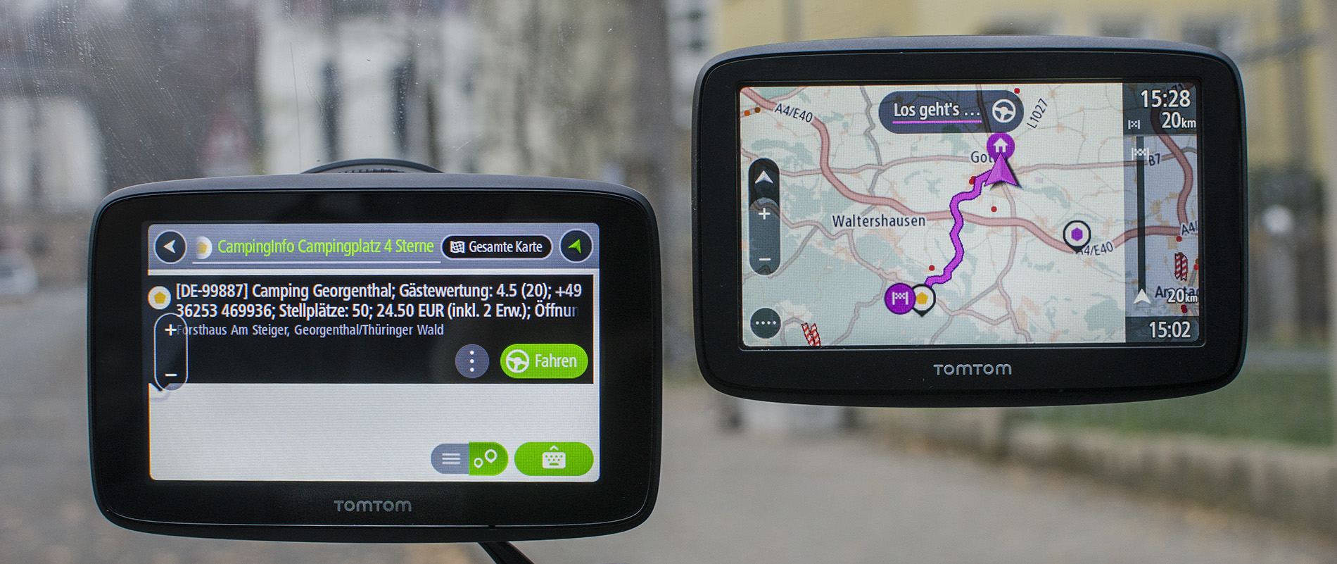 Tomtom Go Basic Und Go Essential Im Test Pocketnavigation De