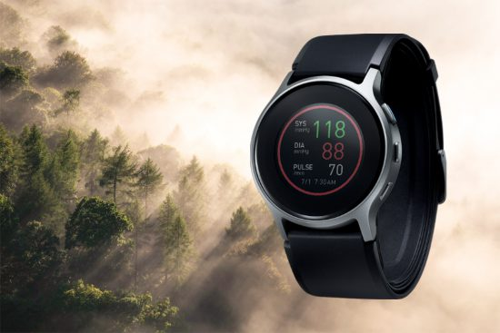 Omron präsentiert Fitness-Uhr mit medizinisch genauer..